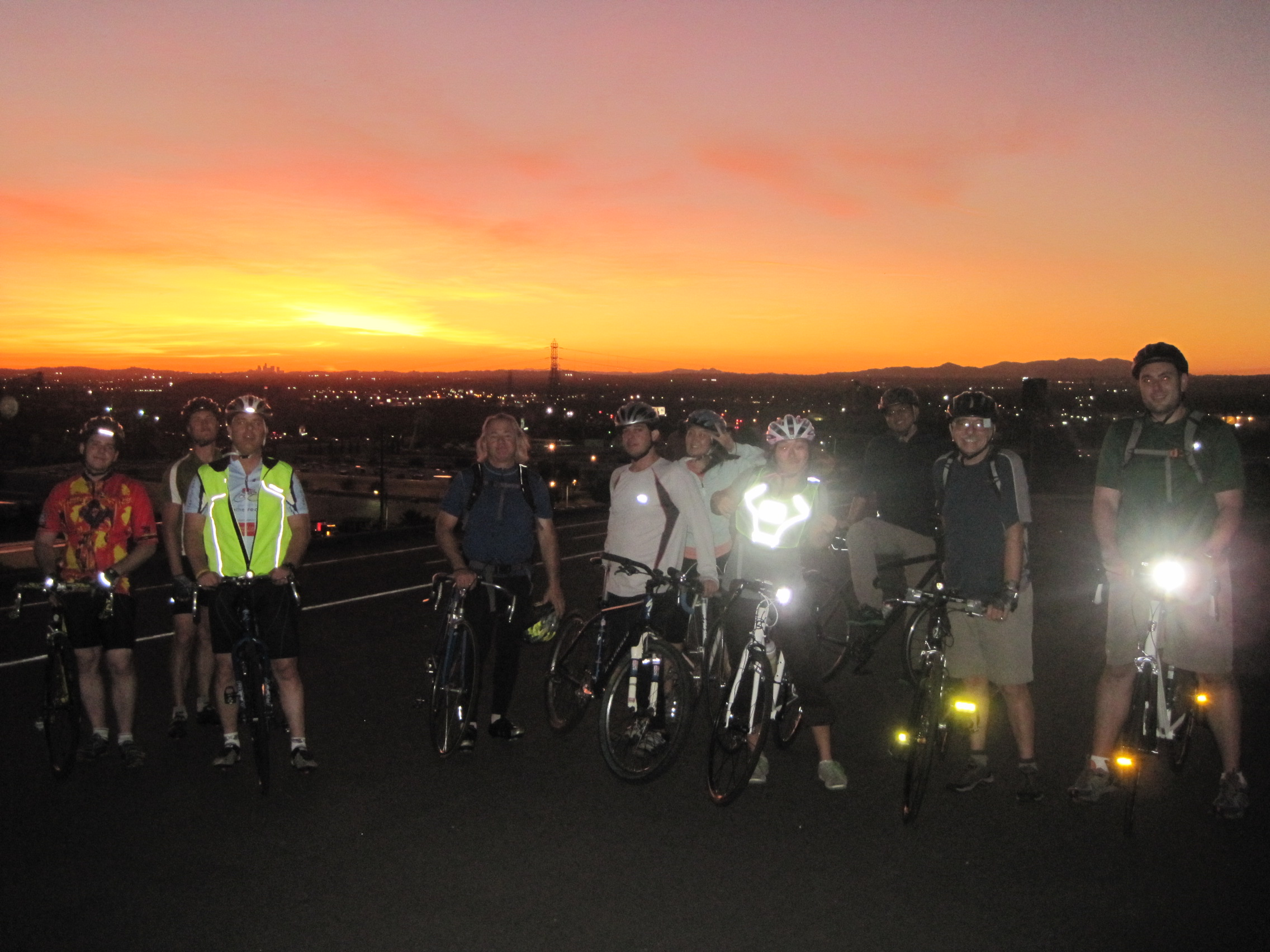 Wrightwood Elevation : Rei arcadia to santa fe dam bike ride summit ascents